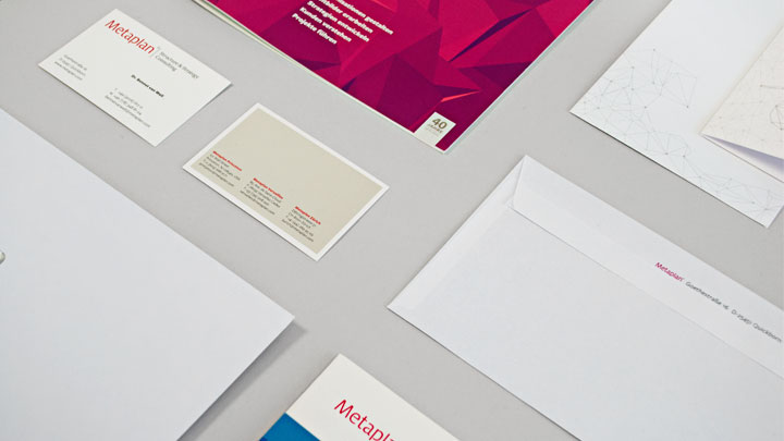 Metaplan – Corporate Design Printmedien