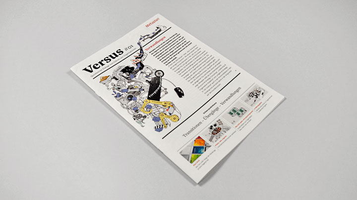 Metaplan – Versus Magazin Cover