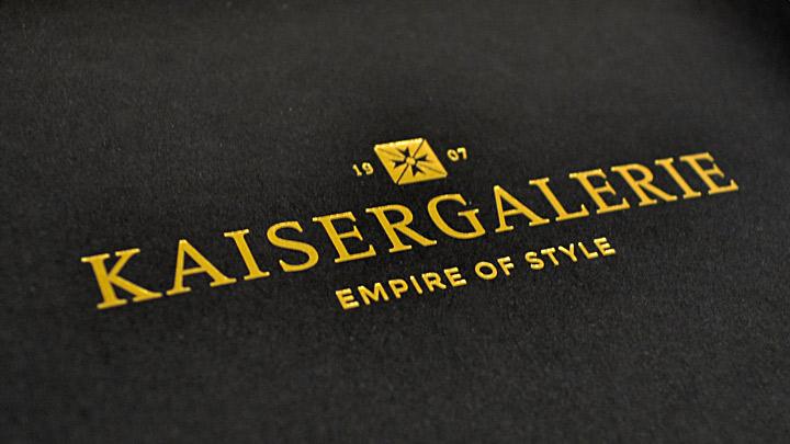Kaisergalerie Logo – Empire of Style