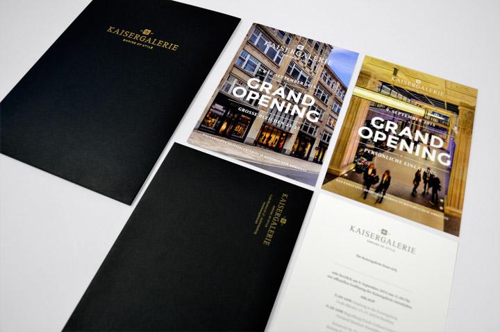 Kaisergalerie – Geschäftsausstattung
