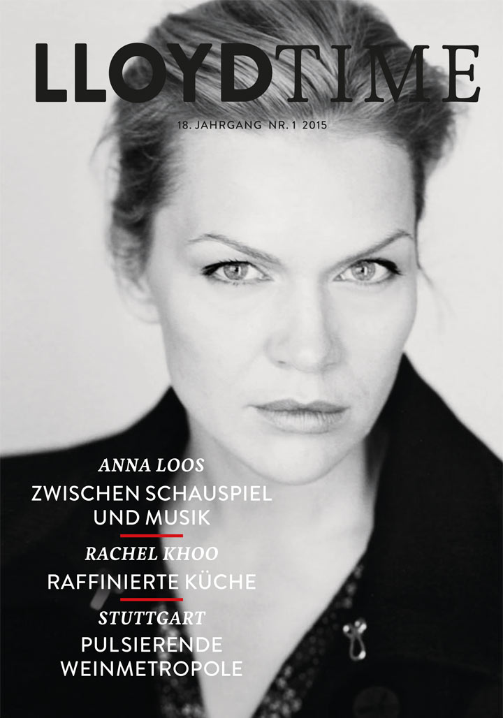 LLOYD Time Ausgabe 01-2015 Cover Anna Loos