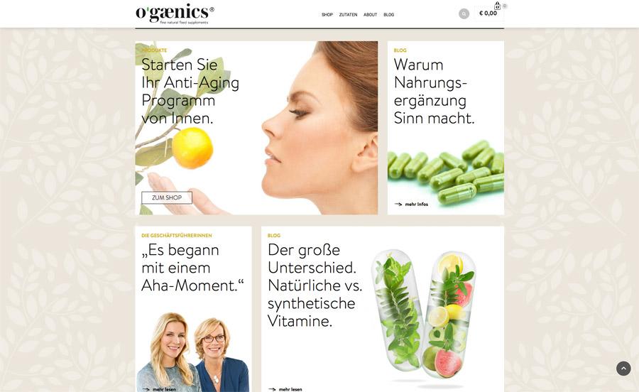 ogaenics Website