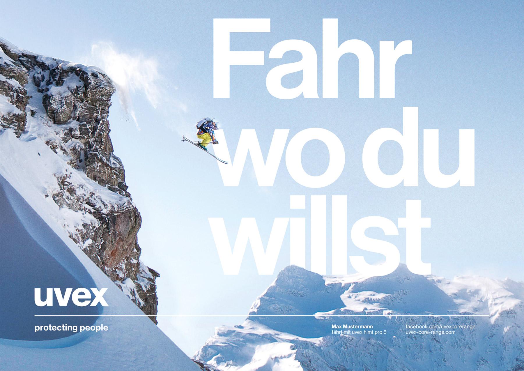 Uvex Kampagne