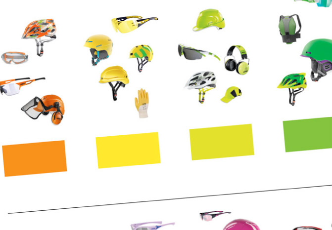 Uvex Designmanuel Farben