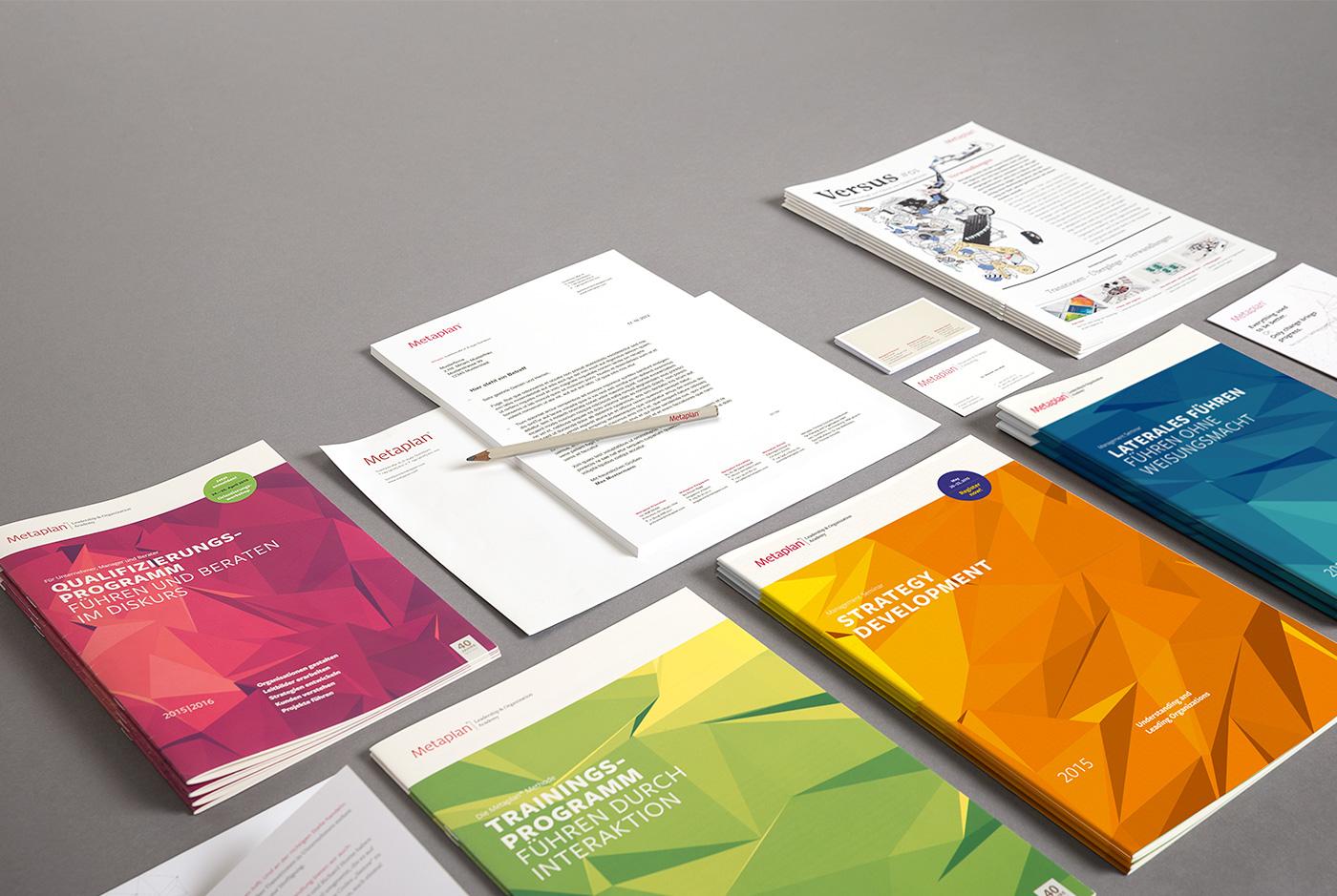 Metaplan Broschüren und Magazine