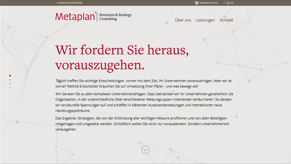 Metaplan Website Intro