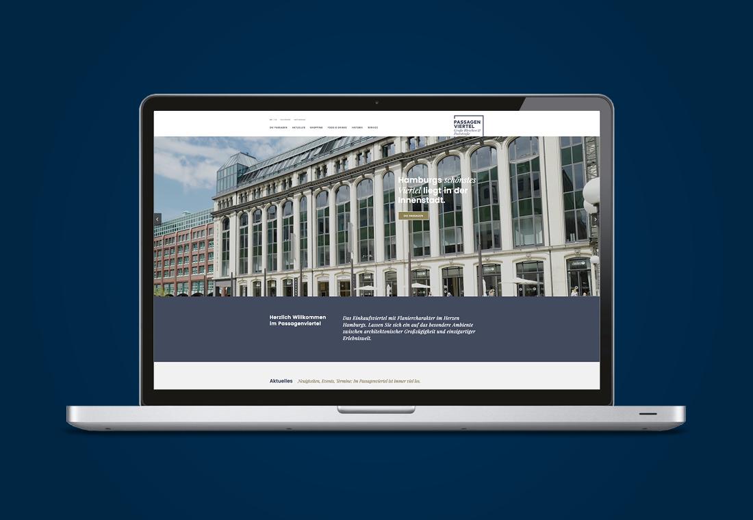 Passagenviertel Website
