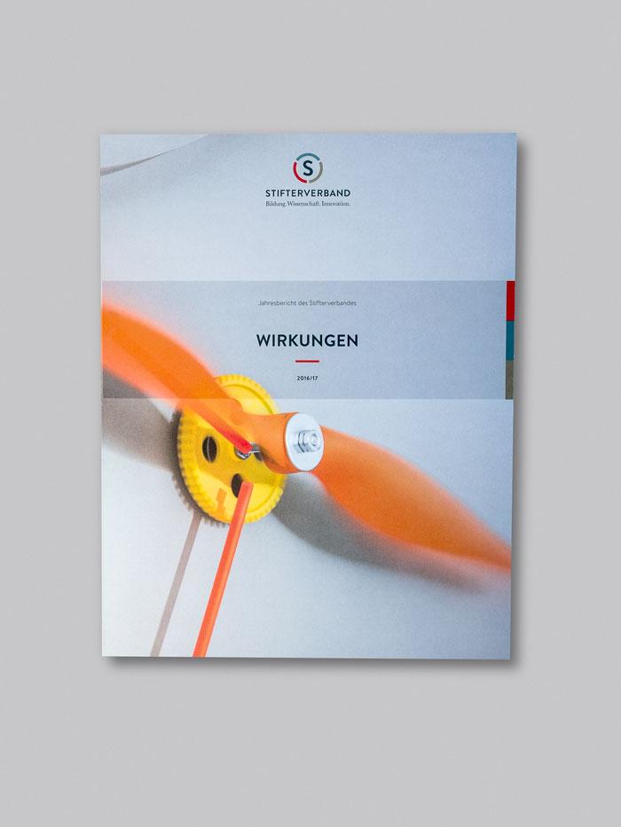 Stifterverband Jahresbericht  Cover