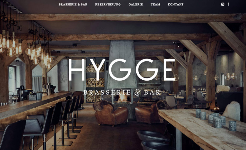 Hygge Website start